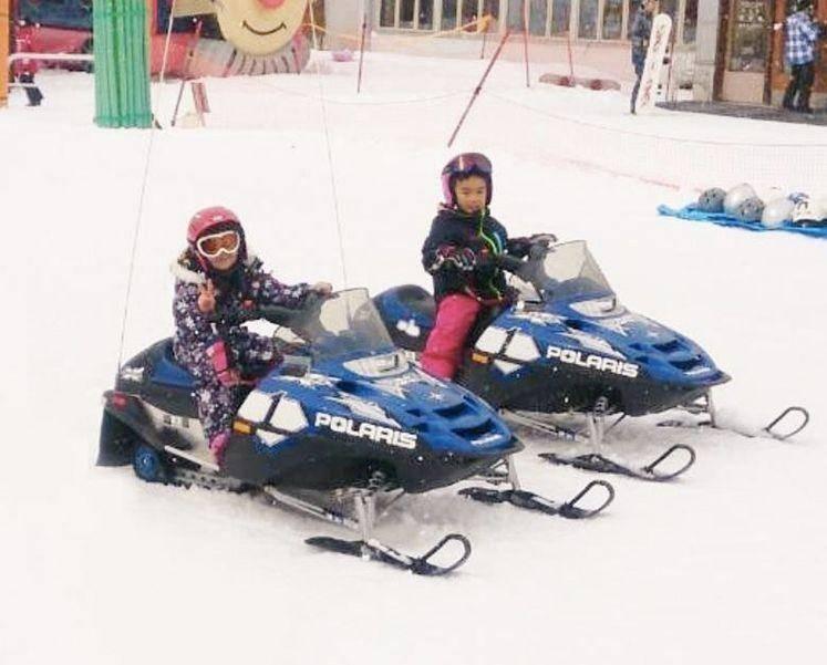 海外滑雪團,日本八幡平,雪上摩托車