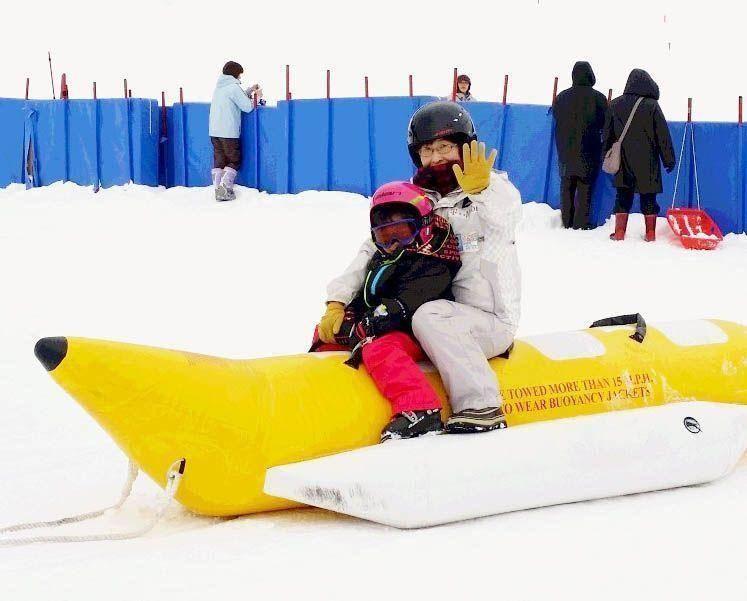 海外滑雪團,日本八幡平,香蕉船