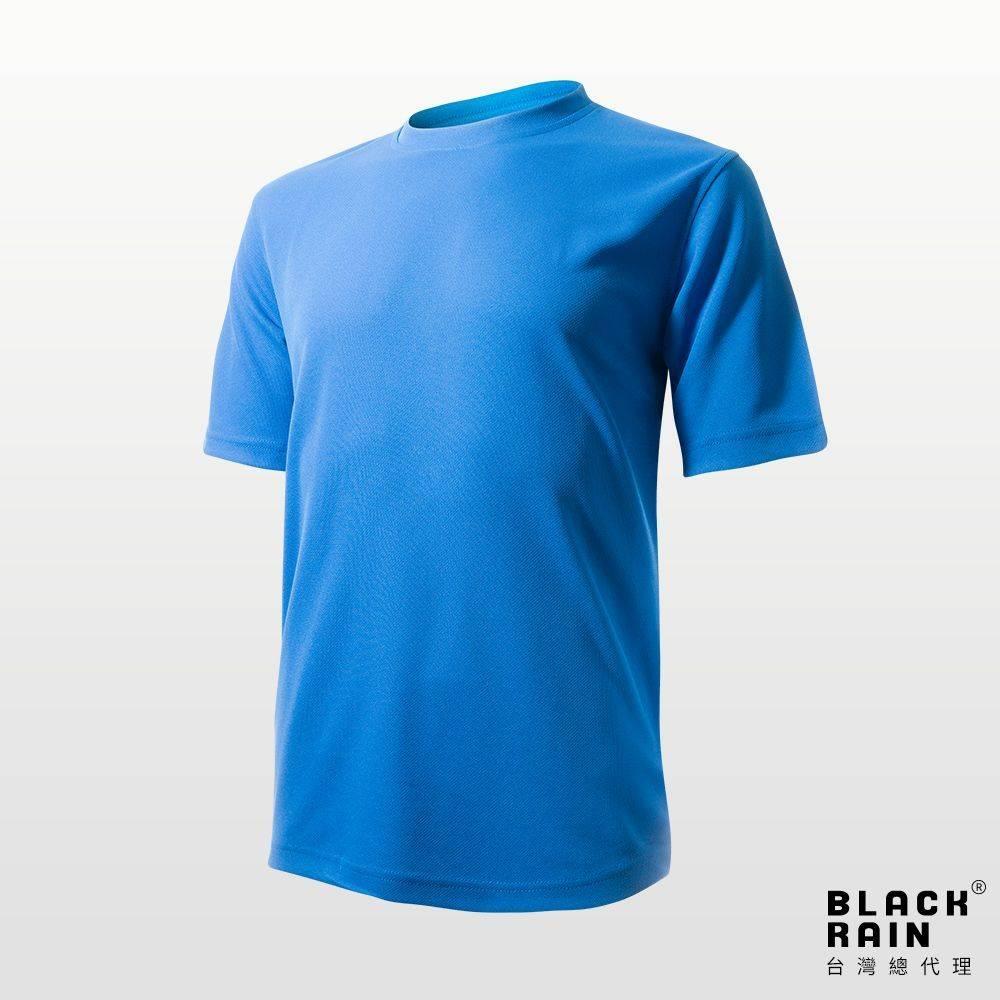 【荷蘭Black Rain】短袖T-SHIRT BR-72190(101 海藍)