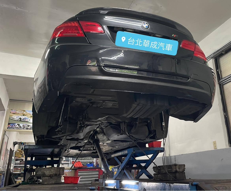 【華成汽車】寶馬/BMW E92 330CI/底盤損傷維修#輪軸承損傷#事故維修#工字樑#結構主樑#四輪定位#底盤角度數據#OiCar台北市南港區推薦汽車保修線上預約保障