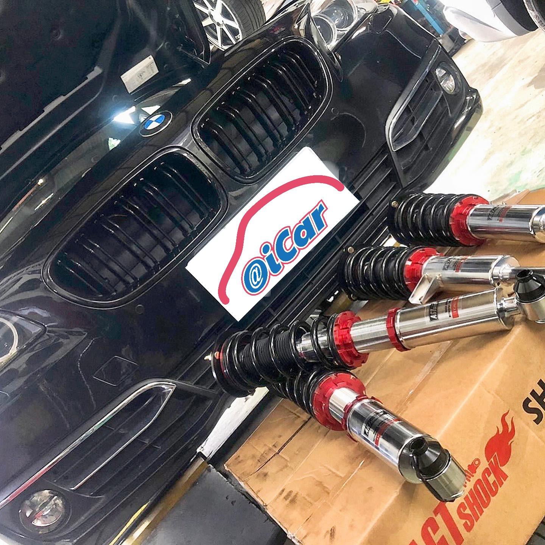 【弘展汽車】寶馬/BMW F10 528I/AGT避震器#底盤精品套件#提升操控性#過彎穩定性#車身高度調整#底盤強化#OiCar新北市土城區推薦汽車保養維修線上預約保障平台