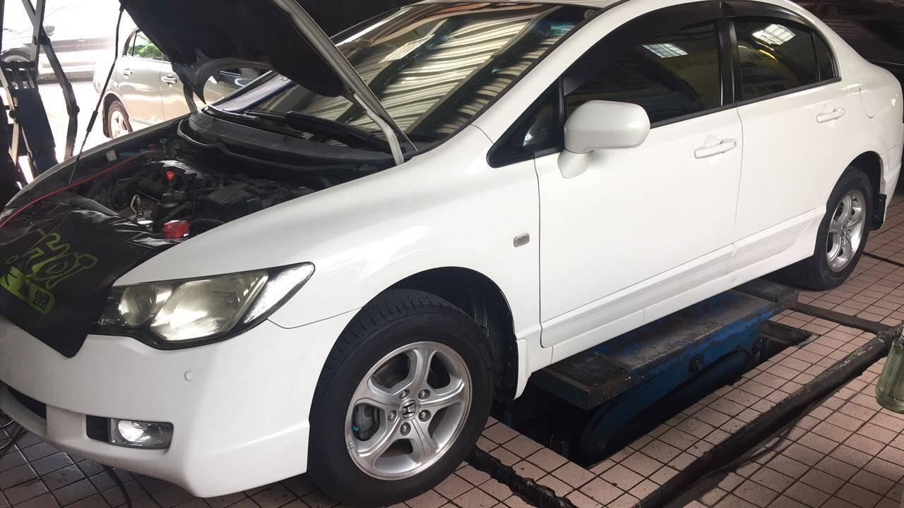 【賽特汽車】本田/Honda Civic 冷氣故障維修#冷氣不冷#補充冷媒#管路清洗