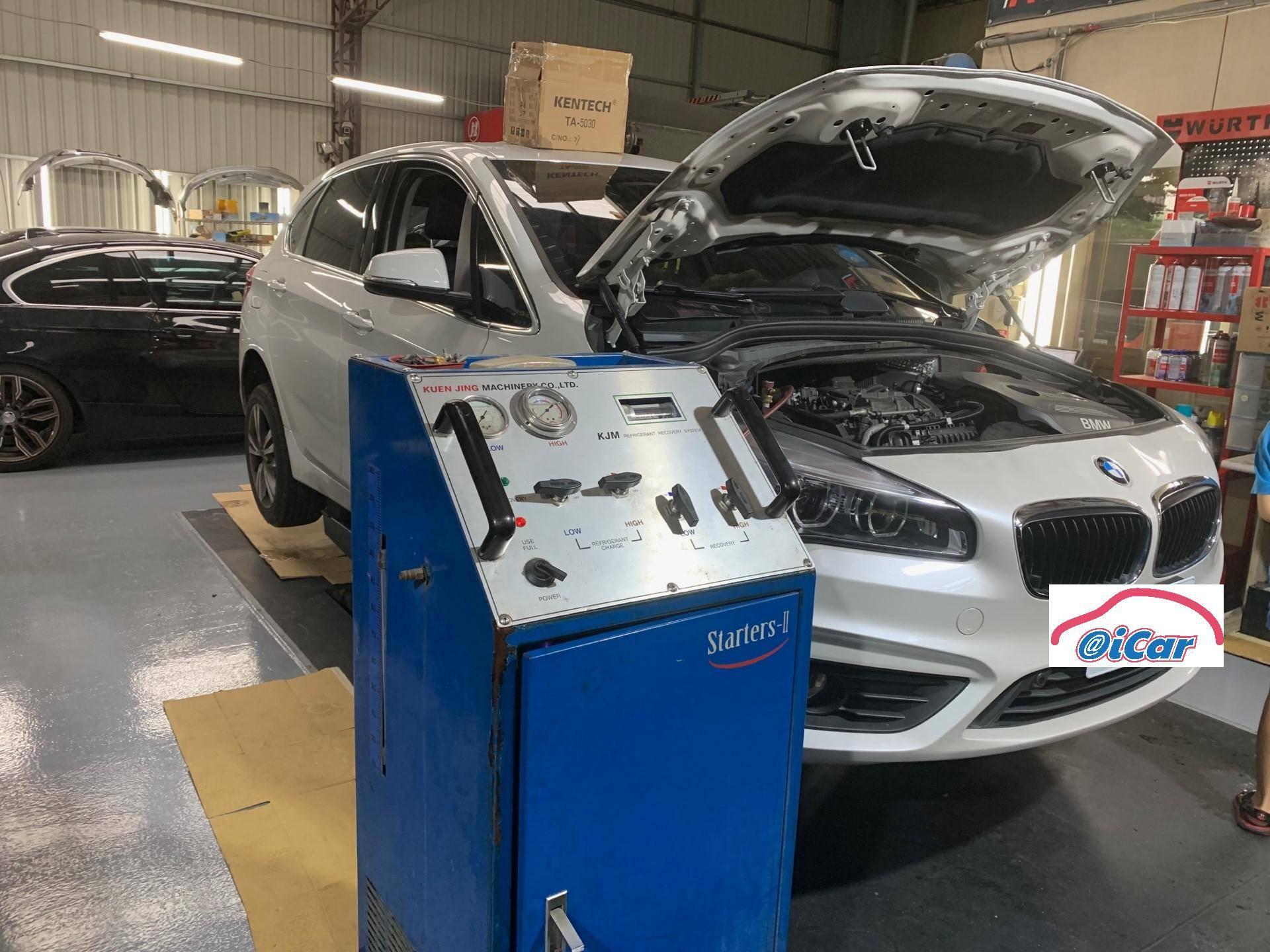 【振傑汽車】寶馬/BMW 218i 冷氣壞掉#清洗冷氣#冷氣不冷故障#冷氣壓縮機問題