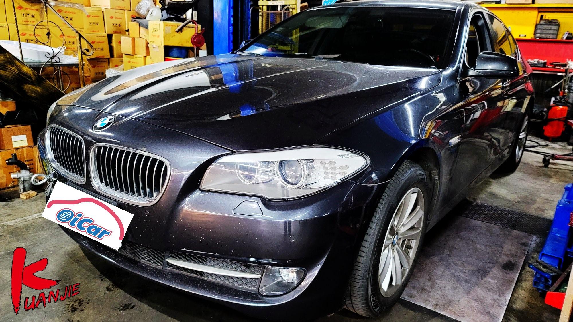 【冠傑汽車】寶馬/BMW F10 520d/8HP變速箱#高速行駛中排檔桿被踢到#差速器損壞#差速器油更換#底盤異音#OiCar新北市三重區推薦汽車保養維修線上