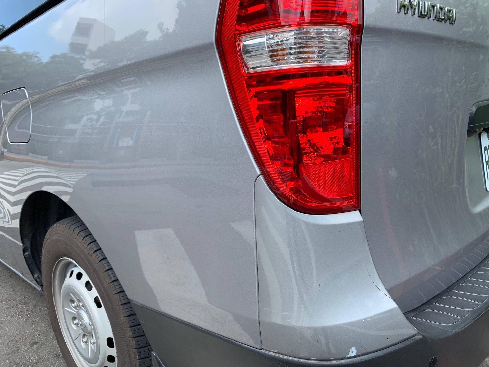 【振傑汽車】現代/Hyundai STAREX 右後損傷#內飾板烤漆#後燈破裂更換#事故