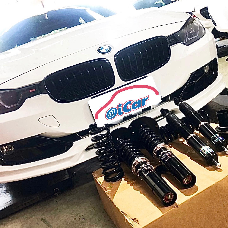 【弘展汽車】寶馬/BMW F30 328i/GT Sport避震器推薦#提升操控效果#精品套件#各式拉桿#降低車身#OiCar新北市土城區推薦汽車保養維修線上預約保障平台