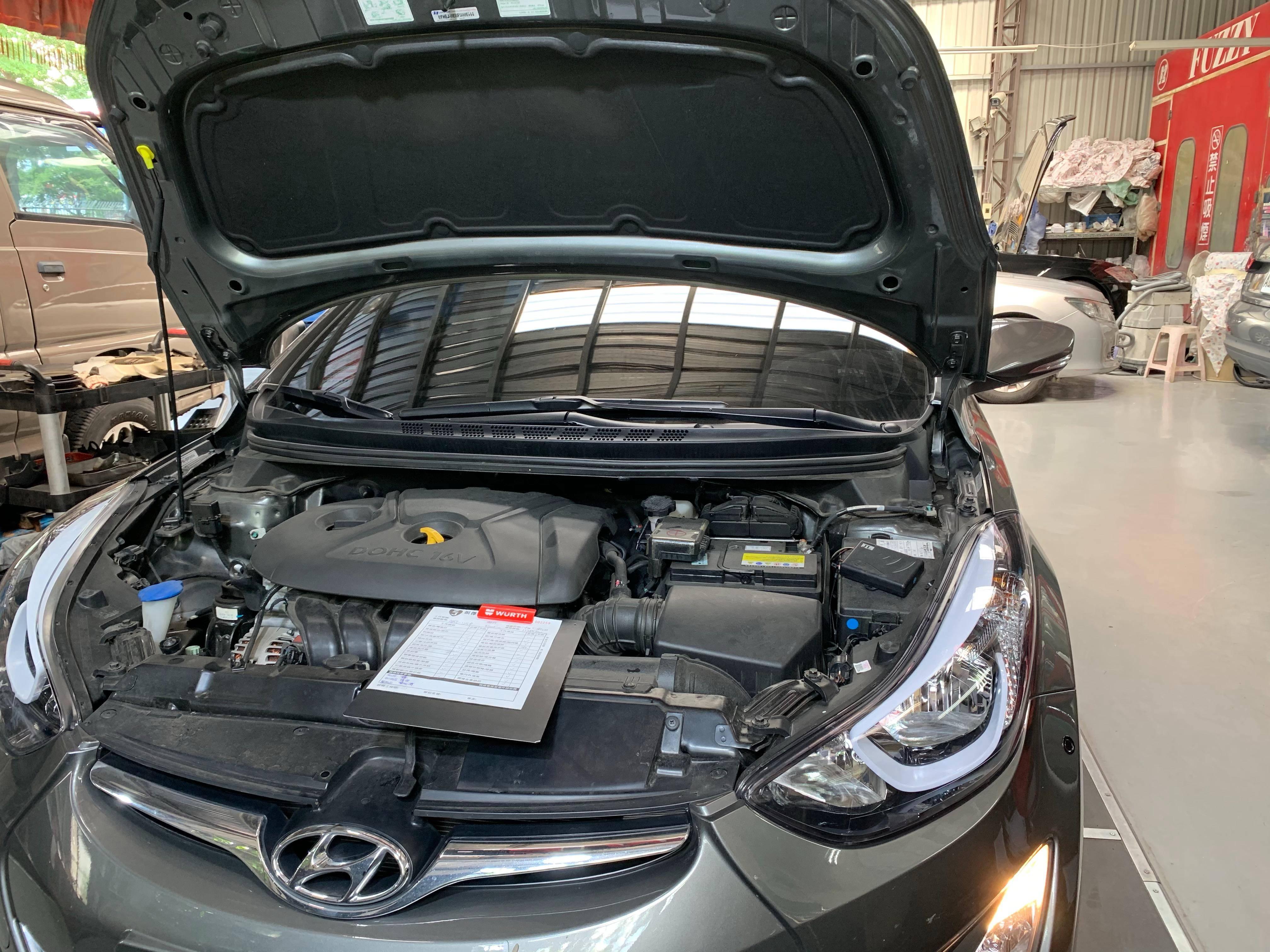 【振傑汽車】現代/HYUNDAI ELANTRA 保養項目#車輛定期保養#玻璃去油膜
