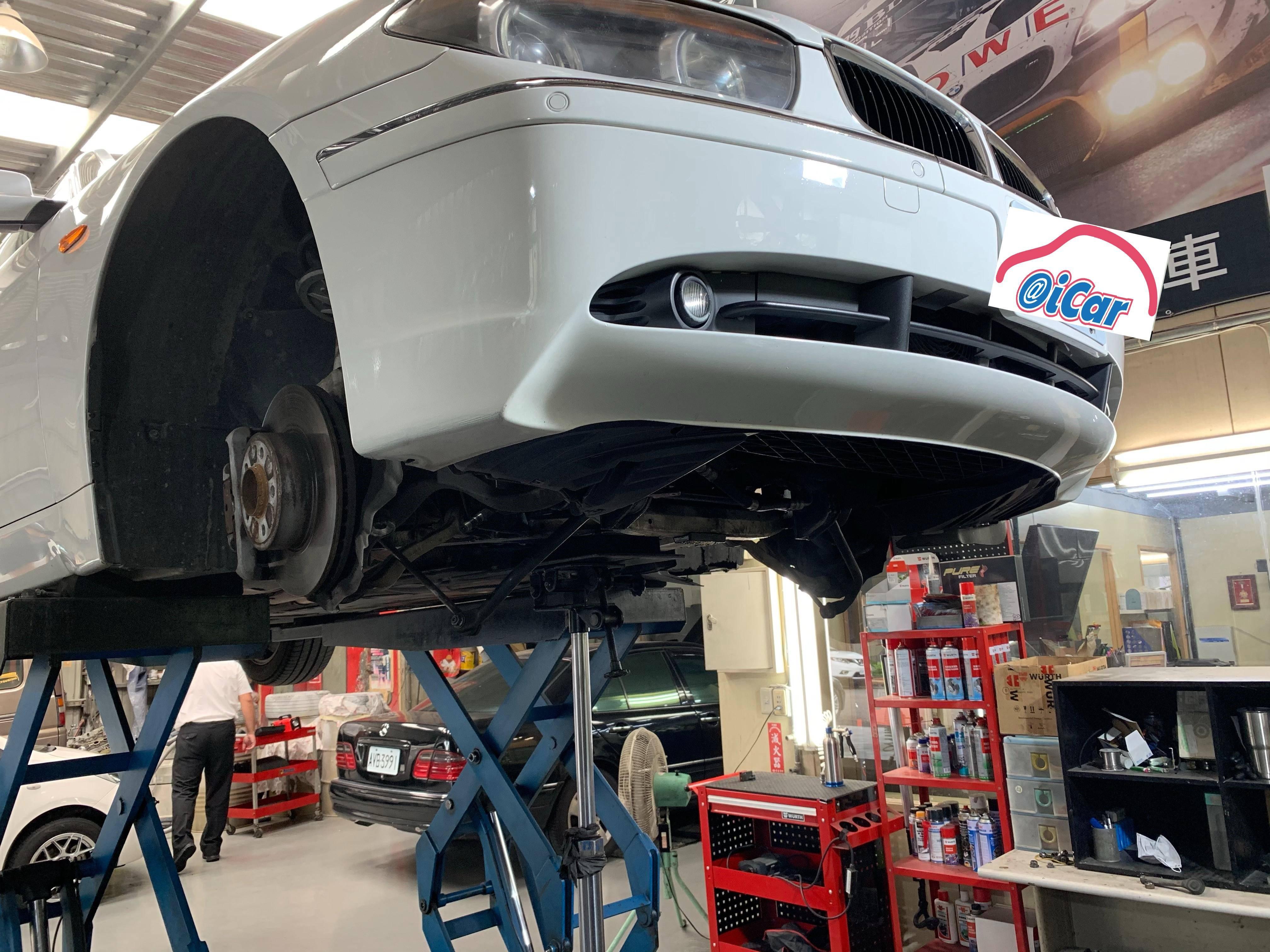 【振傑汽車】寶馬/BMW 735I 保養項目#汽車換機油#方向盤故障問題#方向盤異音