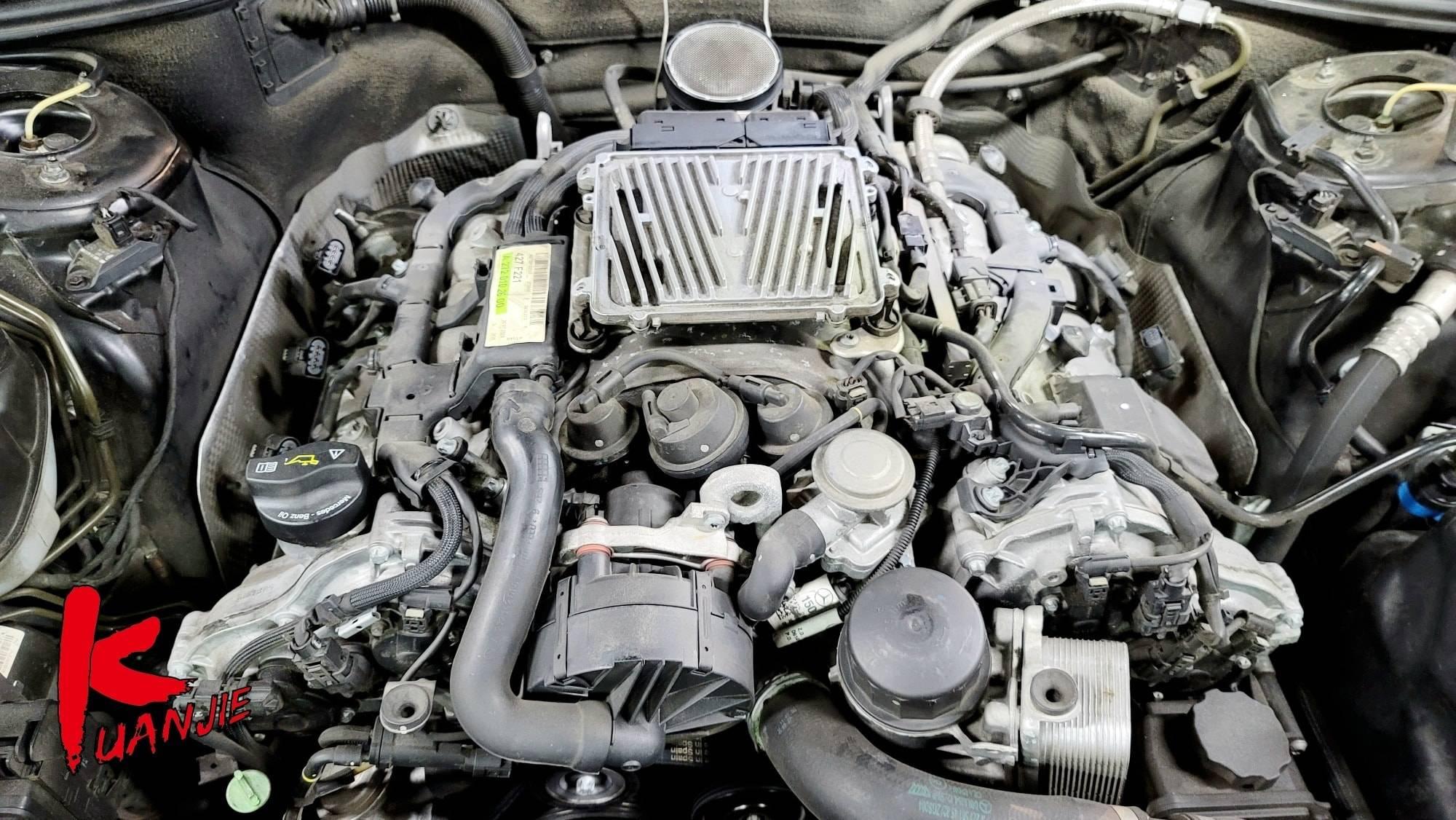 【冠傑汽車】賓士/BENZ W221 S350/引擎抖動嚴重#加速不順#引擎故障燈號#點火異常#火星塞#考爾#OiCar新北市三重區推薦BENZ維修保養預約保障車廠