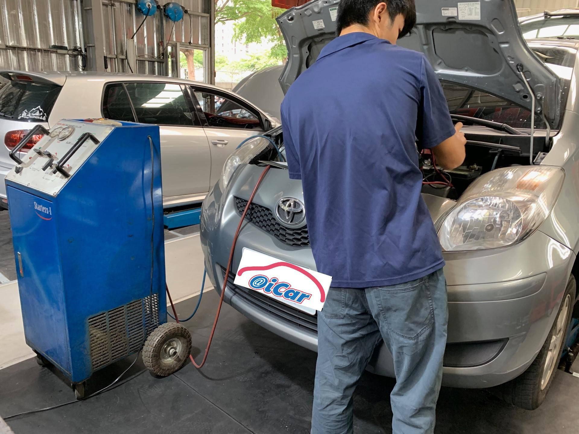 【振傑汽車】豐田/TOYOTA YARIS 車子保養#汽車換機油#換機油芯#保養項目