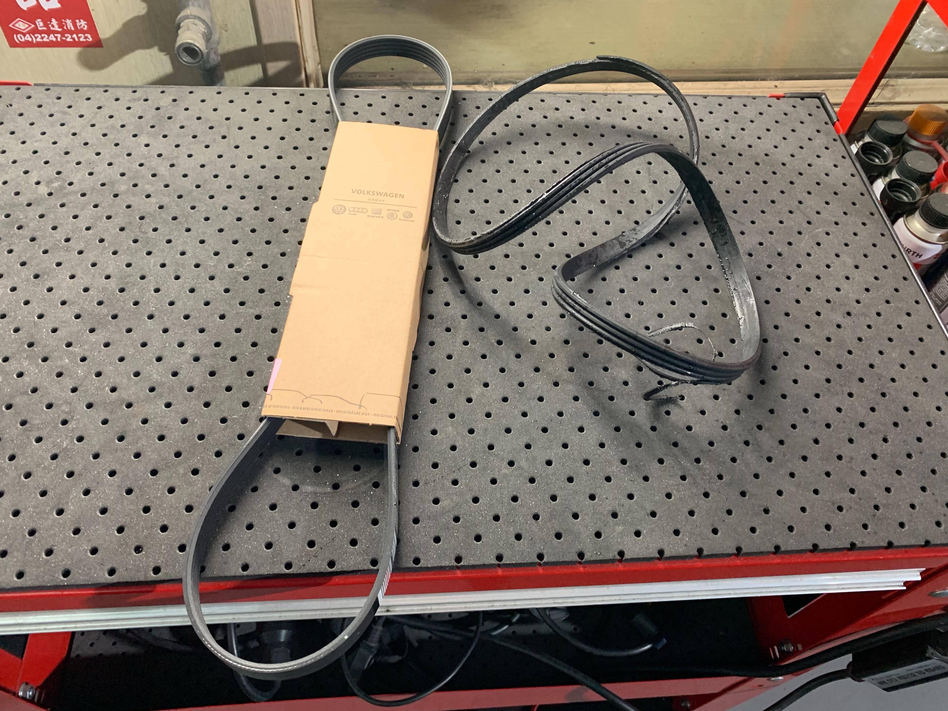 【振傑汽車】奧迪/AUDI A8 發電機故障#皮帶損壞#軸承卡死#水管老化#儀表亮燈