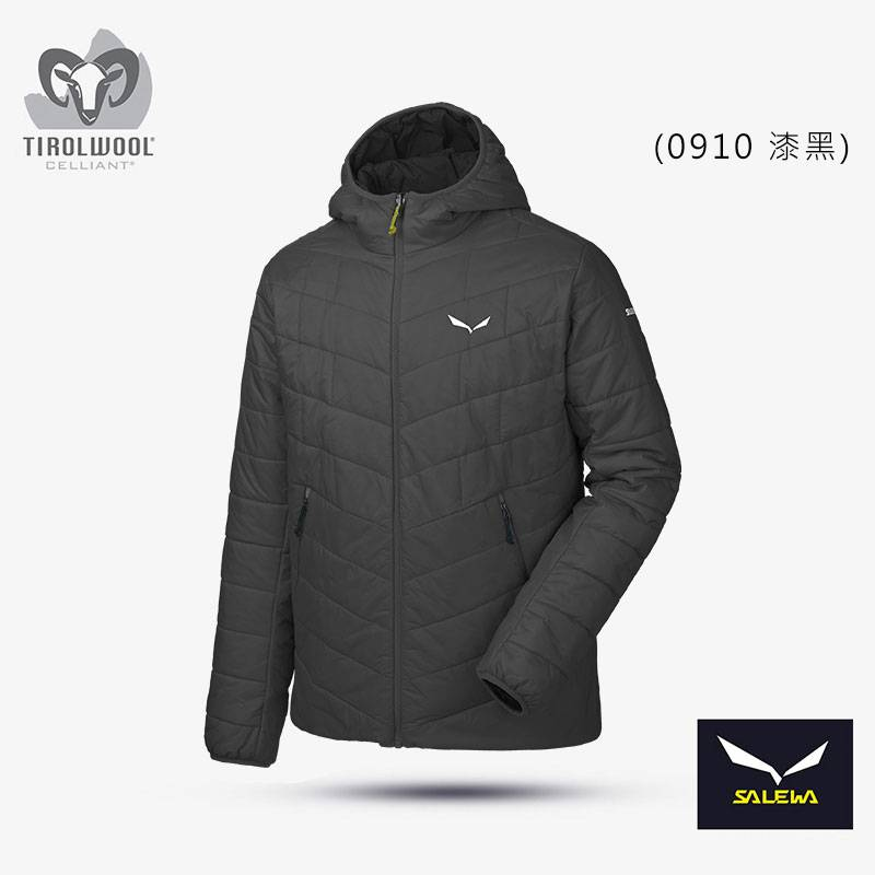 【義大利 SALEWA】FANES 男 Tirolwool Celliant連帽夾克 26648