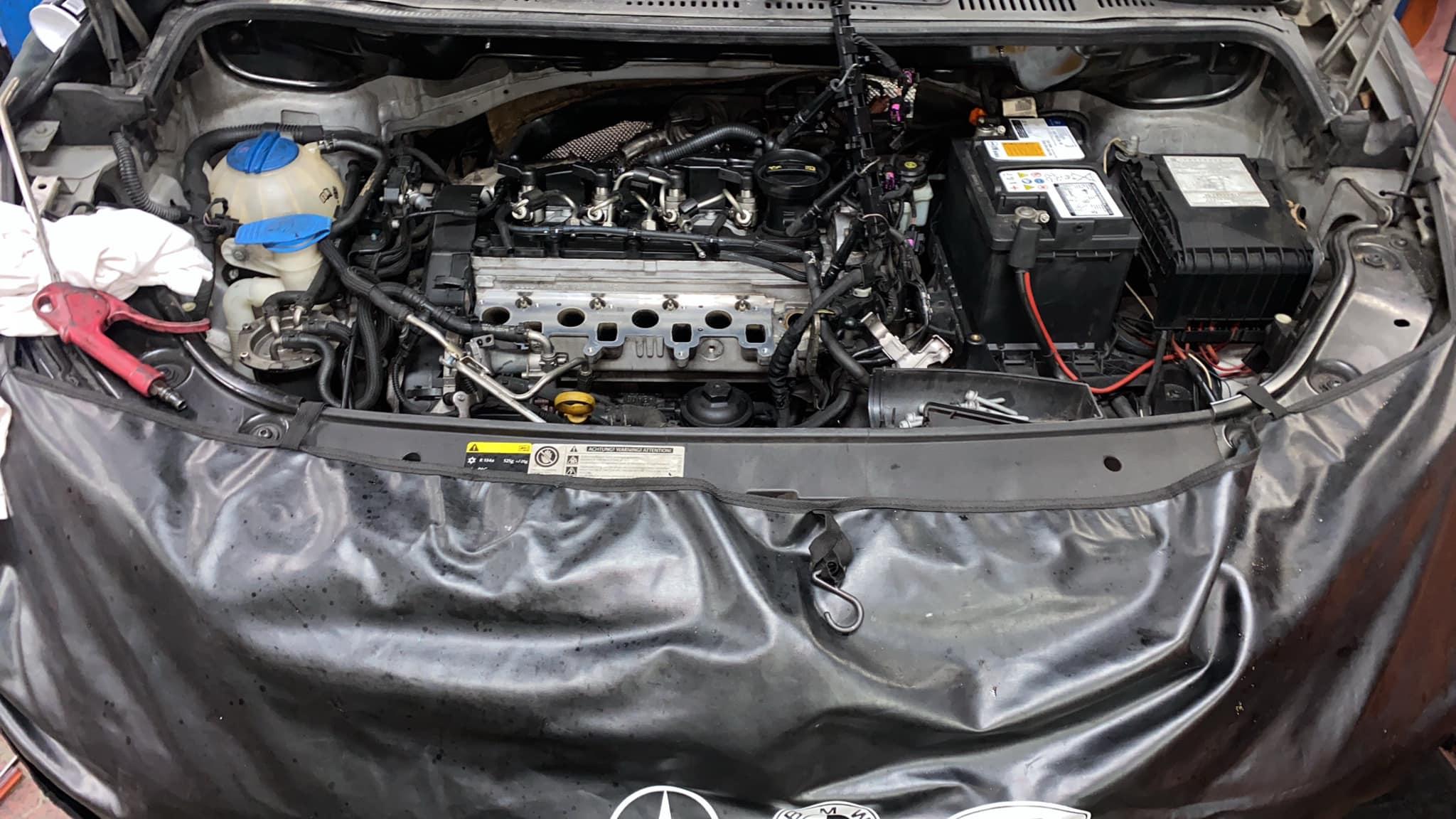 【豪德汽車】福斯 陶然/VW Touran TDi/DPF故障燈#加速不順#EGR重新設定編程#核桃砂除碳#DPF強制再生#OiCar基隆市七堵區推薦汽車保養維修線上預約保障服務