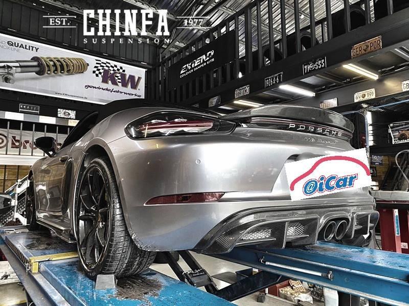 【進發柏仕車業】保時捷/Porsche 718 Boxster/威斯登輪胎#百年品牌#耐磨指數320#牽引力AA散熱A#歐盟測試胎噪僅70db~71db#OiCar新竹縣竹東鎮推薦VAG保養維修預約保障外廠