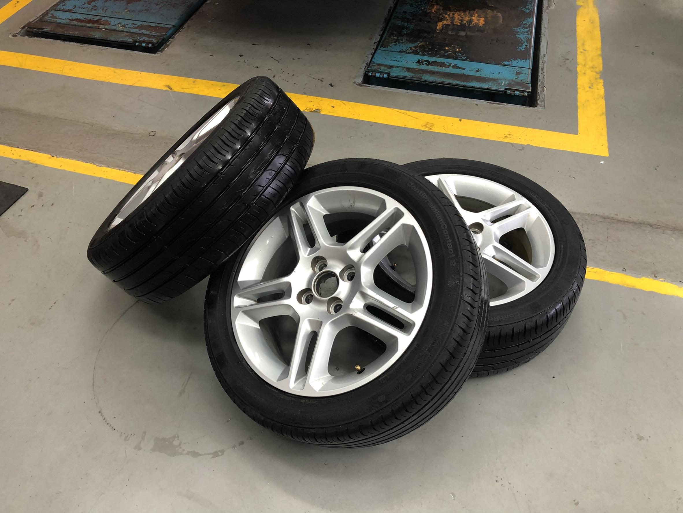 【速得安保修】福特 菲仕塔/FORD Fiesta/行車底盤異音#輪胎推薦#輪胎規格#輪胎變形#底盤異音問題#米其林輪胎#輪胎壽命#OiCar高雄市三民區汽車推薦保修預約保障廠