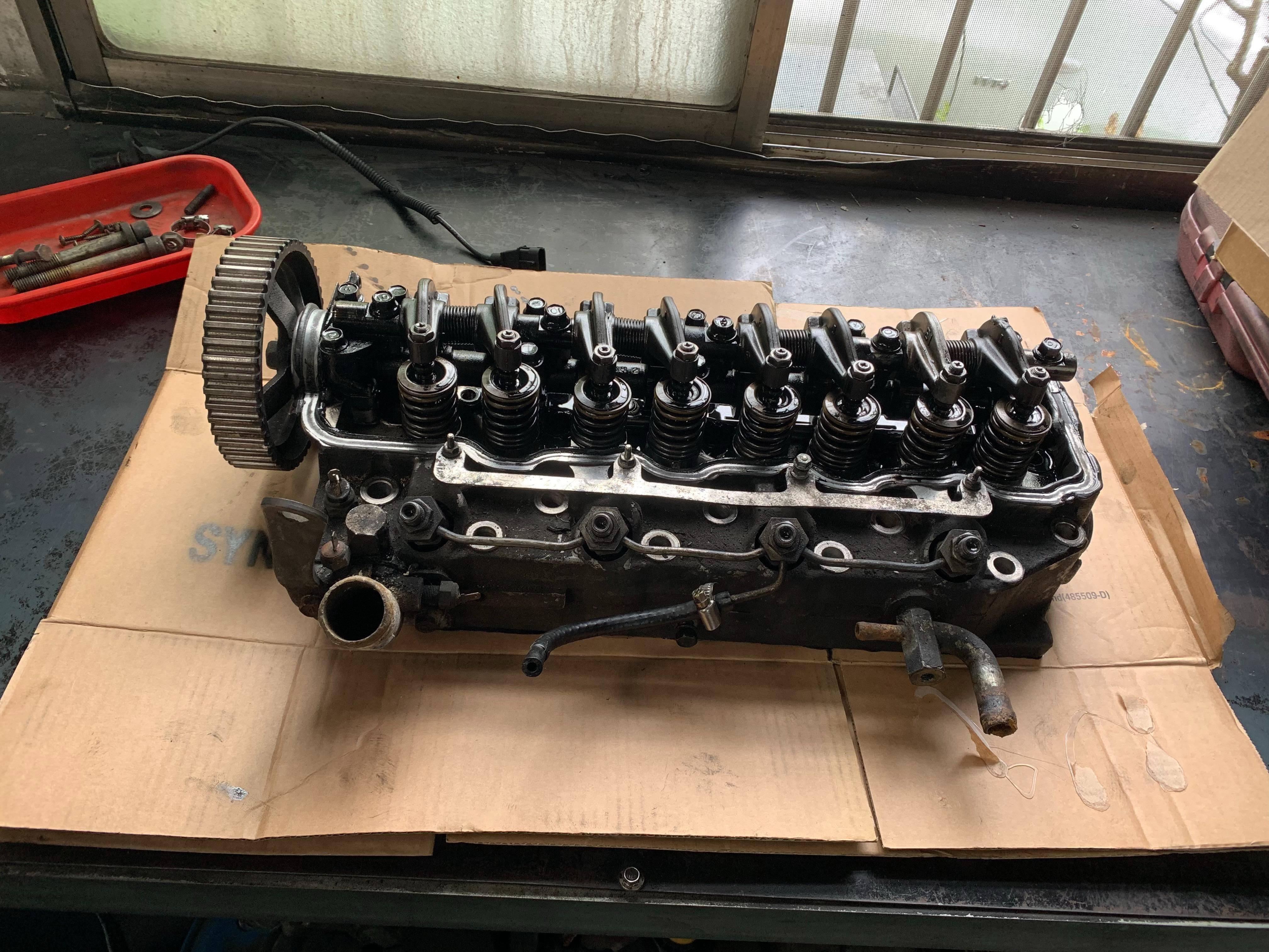 【振傑汽車】三菱/MITSUBISHI DIESEL 引擎大修#車吃機油#汽缸問題#活塞問題#磨損嚴重