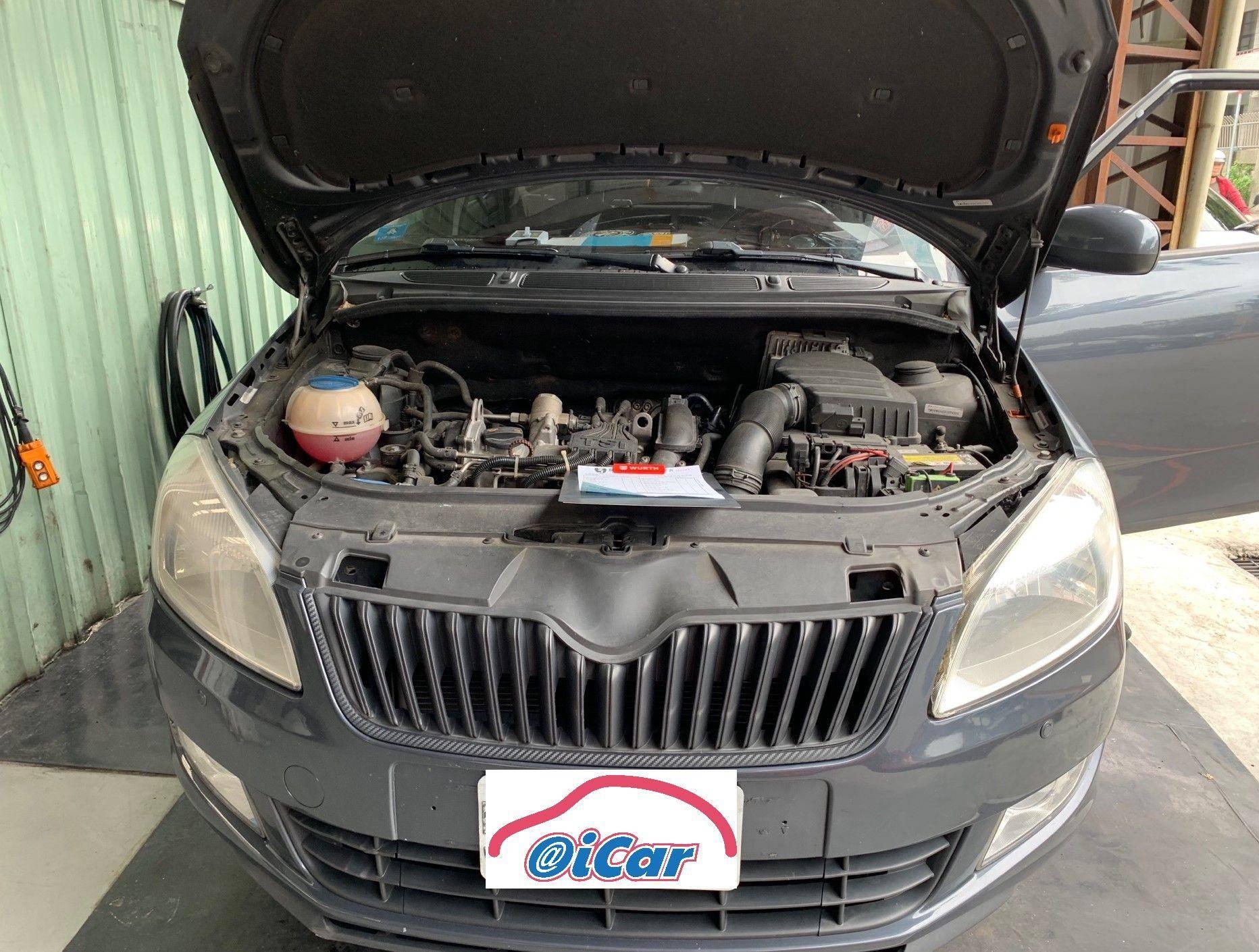 【振傑汽車】斯柯達/SKODA FABIA 車輛保養#定期保養#引擎止漏劑#油路清洗劑#玻璃油膜去除劑