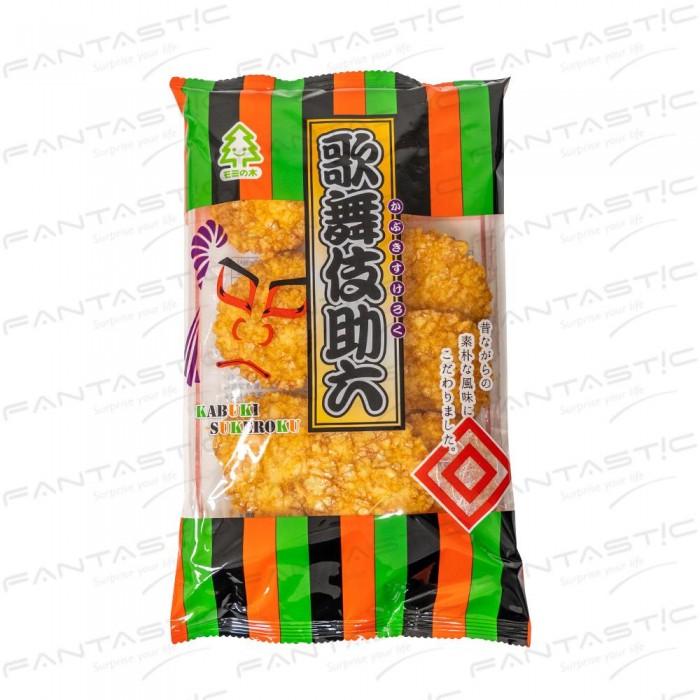 杉木歌舞伎助六醬油味米果8枚