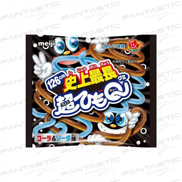 日本 明治超長QQ可樂蘇打軟糖29g