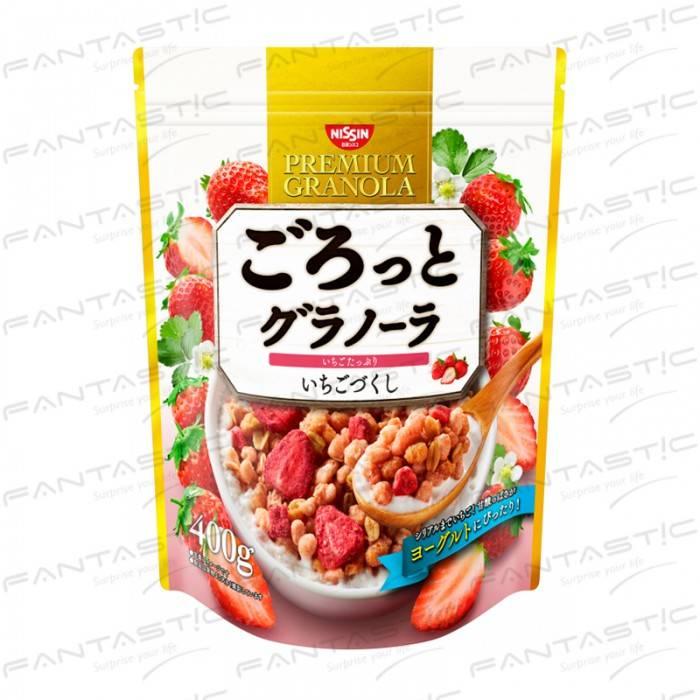 日清草莓早餐麥片BIG 400g