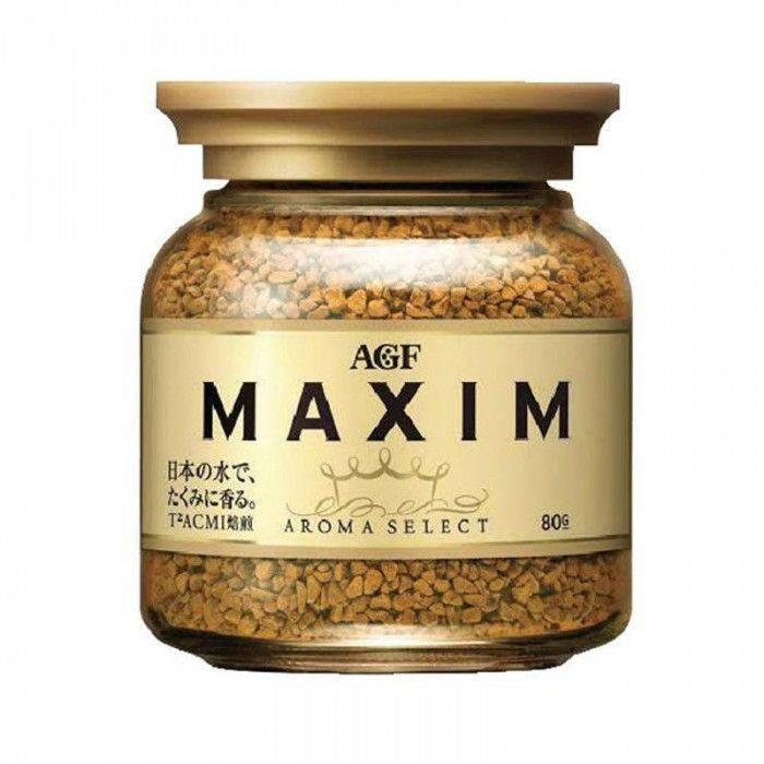 日本 AGF MAXIM 香醇箴言咖啡80g-金罐
