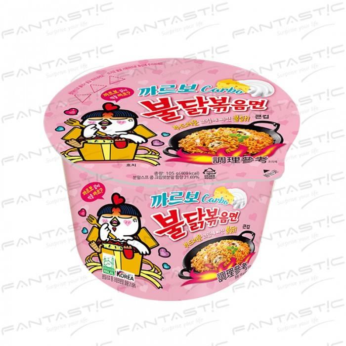 火辣雞肉風味鐵板炒麵(奶油白醬風味)碗裝