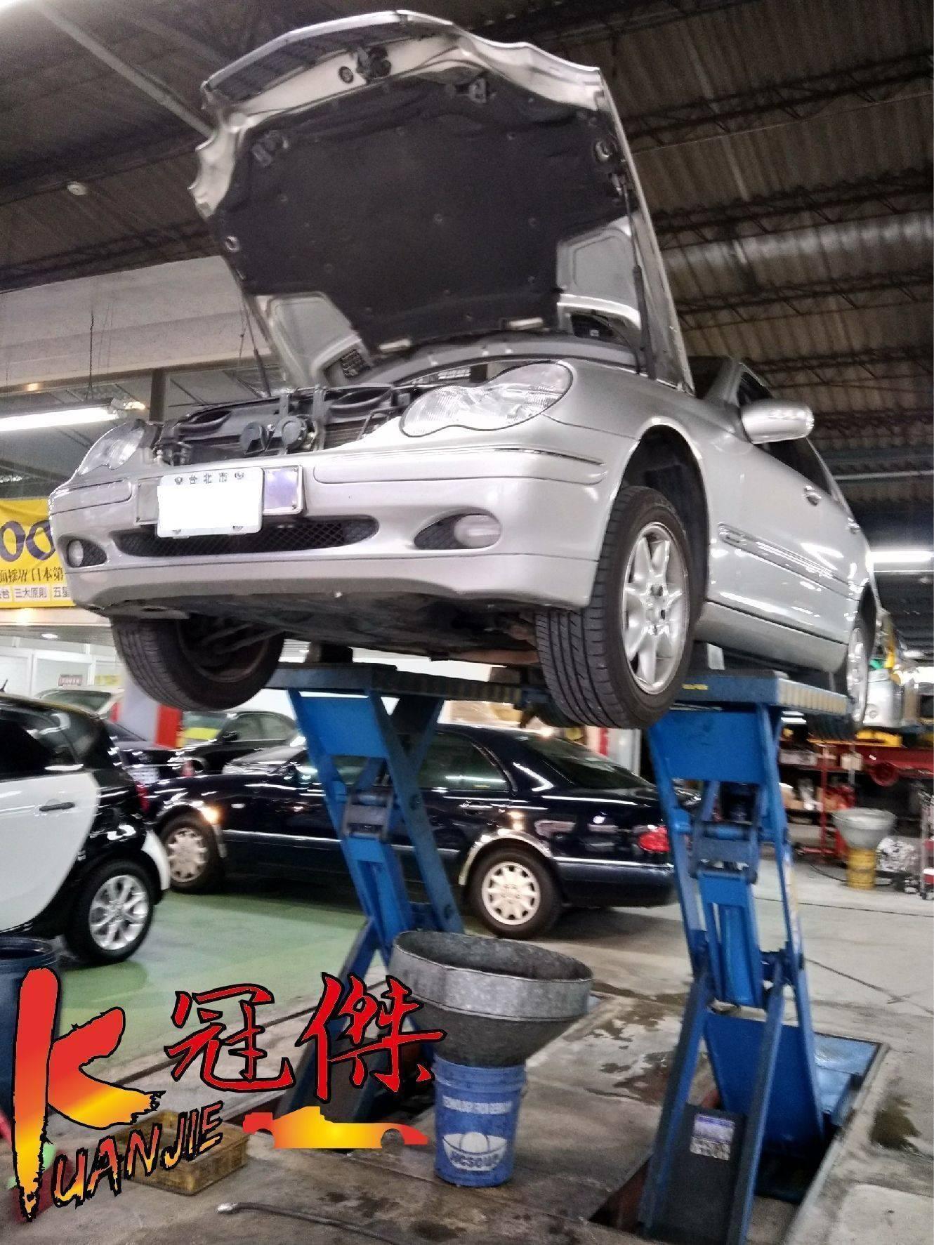 【K J 冠傑汽車】賓士/BENZ 722.6變速箱鎖檔故障問題