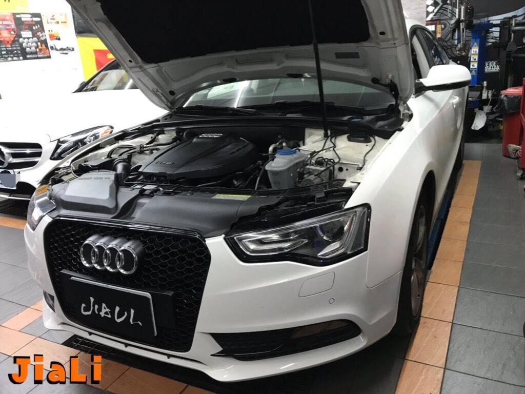 【嘉利汽車】奧迪/AUDI A5 B8.5 1.8t 精緻保養#全車安全檢查項目