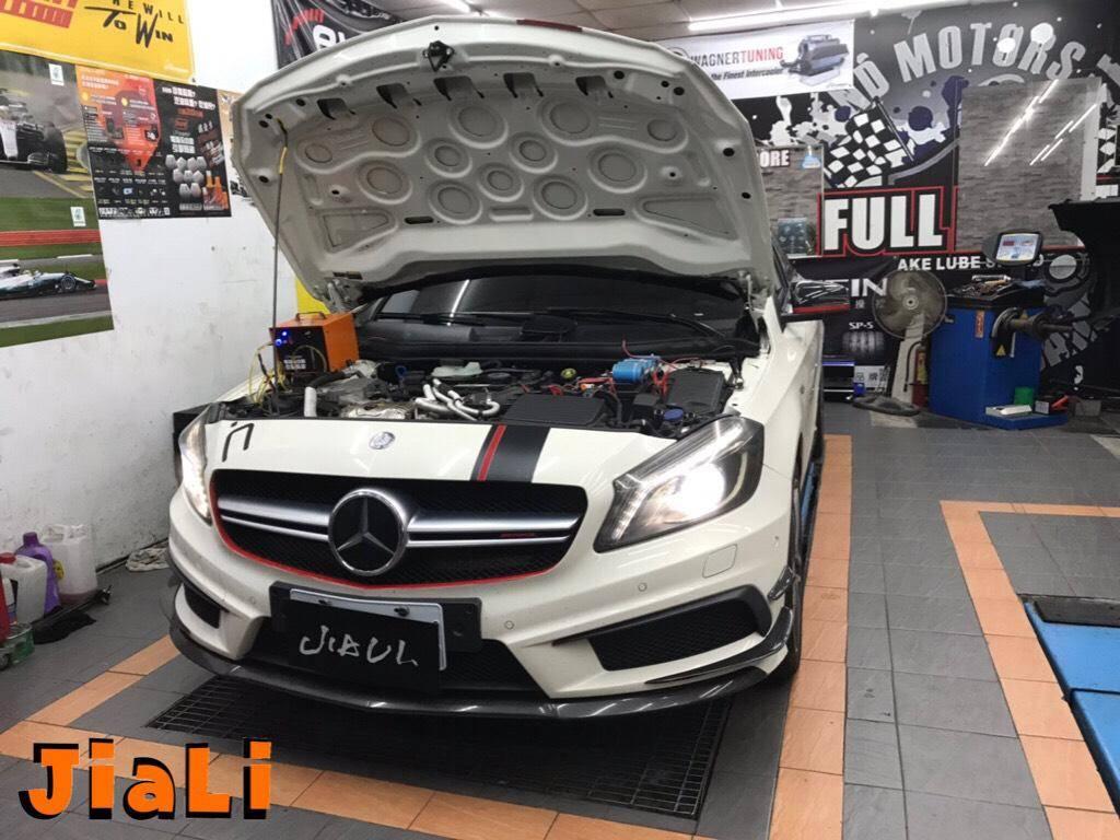 【嘉利汽車】賓士/BENZ W176 A45 AMG 引擎除碳#引擎積碳