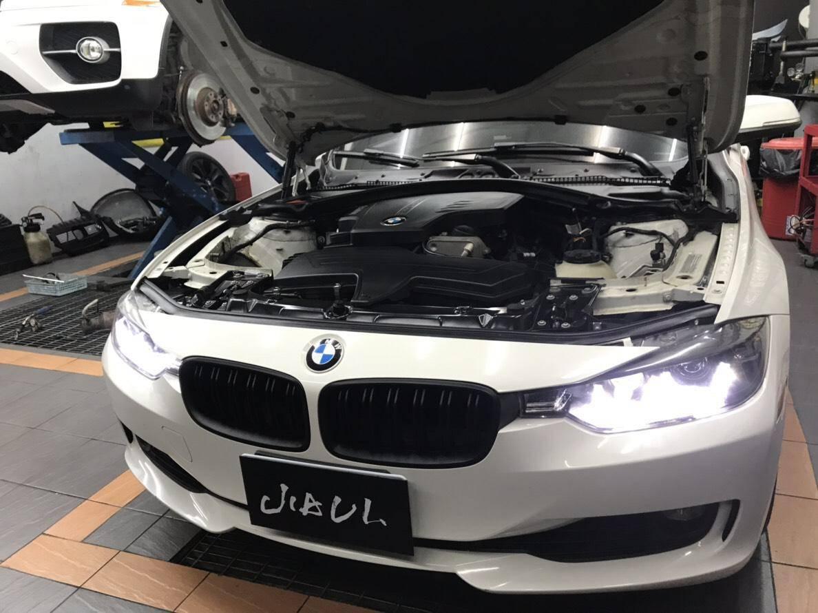 【JiALi嘉利汽車】寶馬/BMW F30 328i #引擎漏油維修#機油量不足