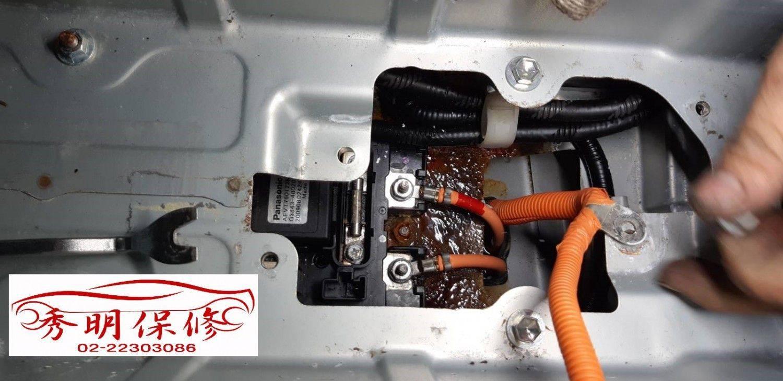 【秀明汽車】凌志/LEXUS RX450H 涉水低窪區#致車輛系統故障#拖吊進廠#泡水車整理維修