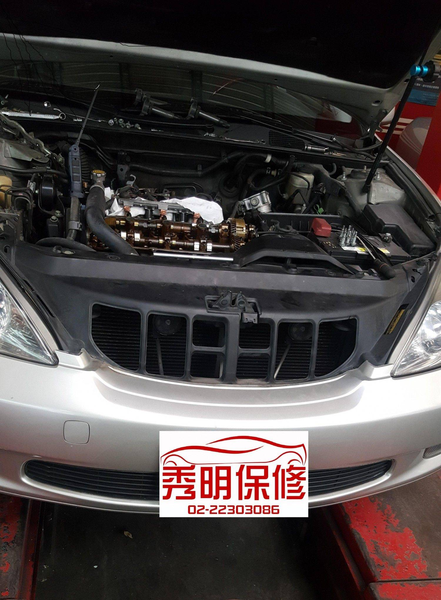 【秀明汽車】凌志/LEXUS ES330 引擎問題#引擎漏油#引擎冒煙#引擎燈亮