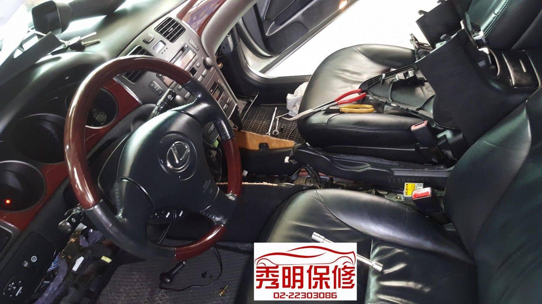 【秀明汽車】凌志/LEXUS ES300 排檔不順#更換排檔桿拉索#變速箱故障問題