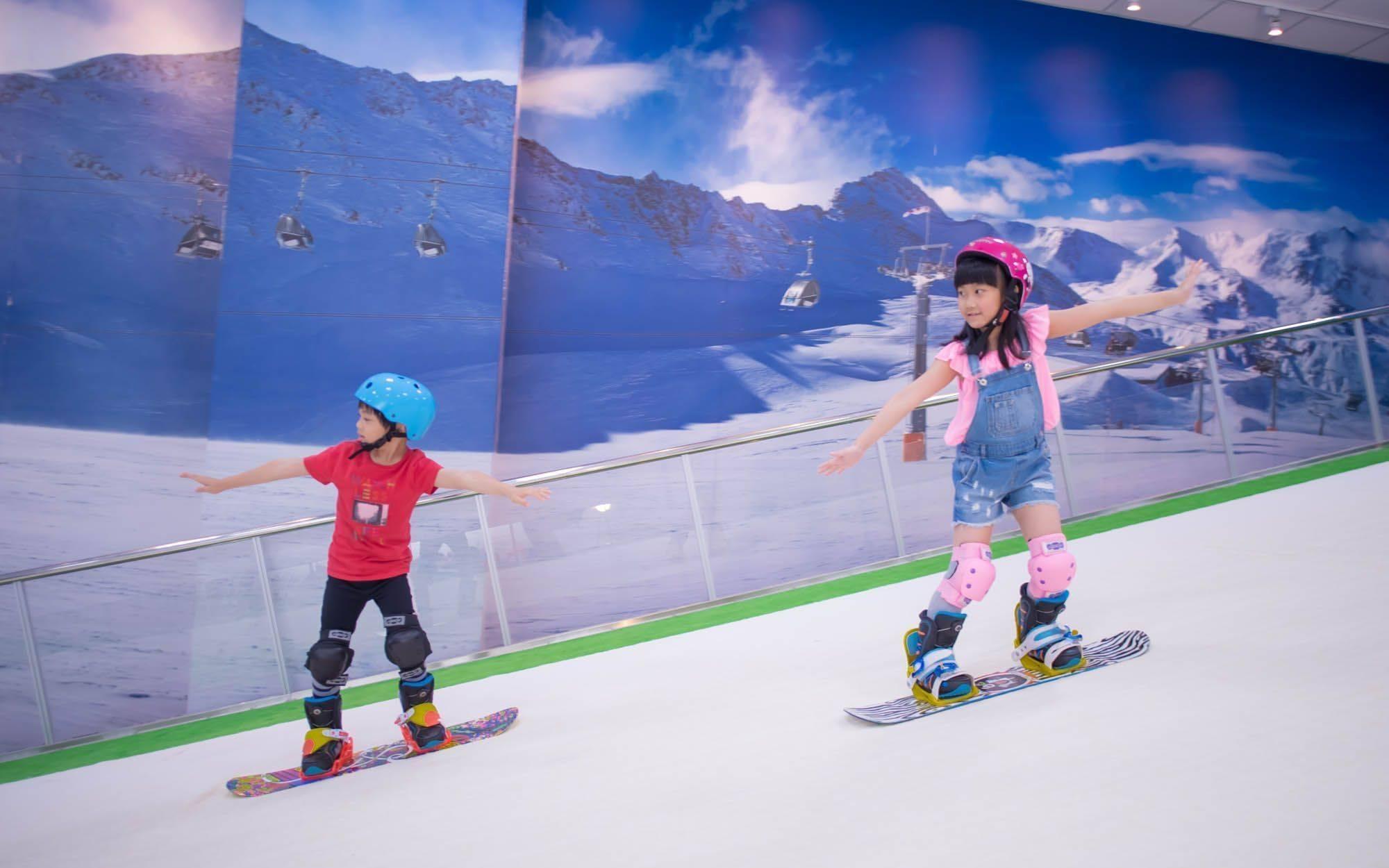 全國唯一奧運級滑雪學習機