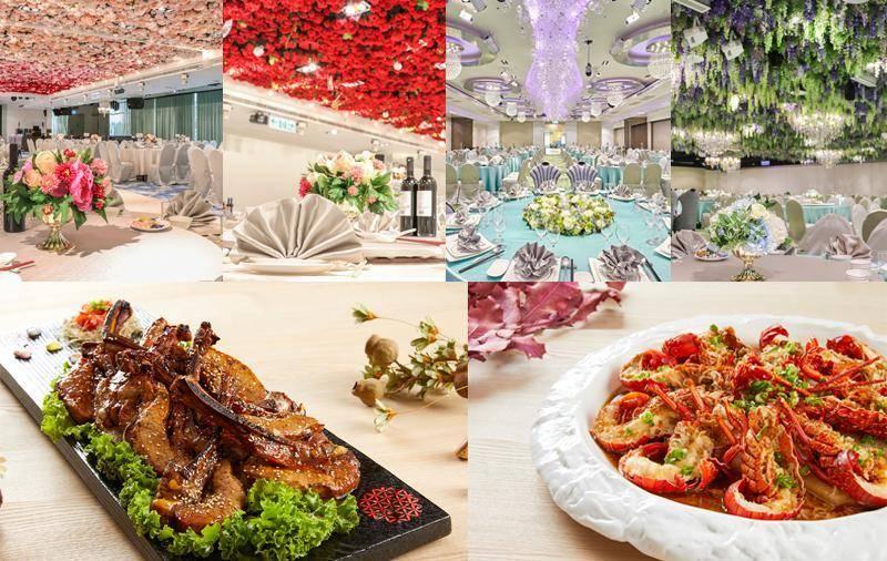 婚宴會館-88樂章婚宴菜色、廳房