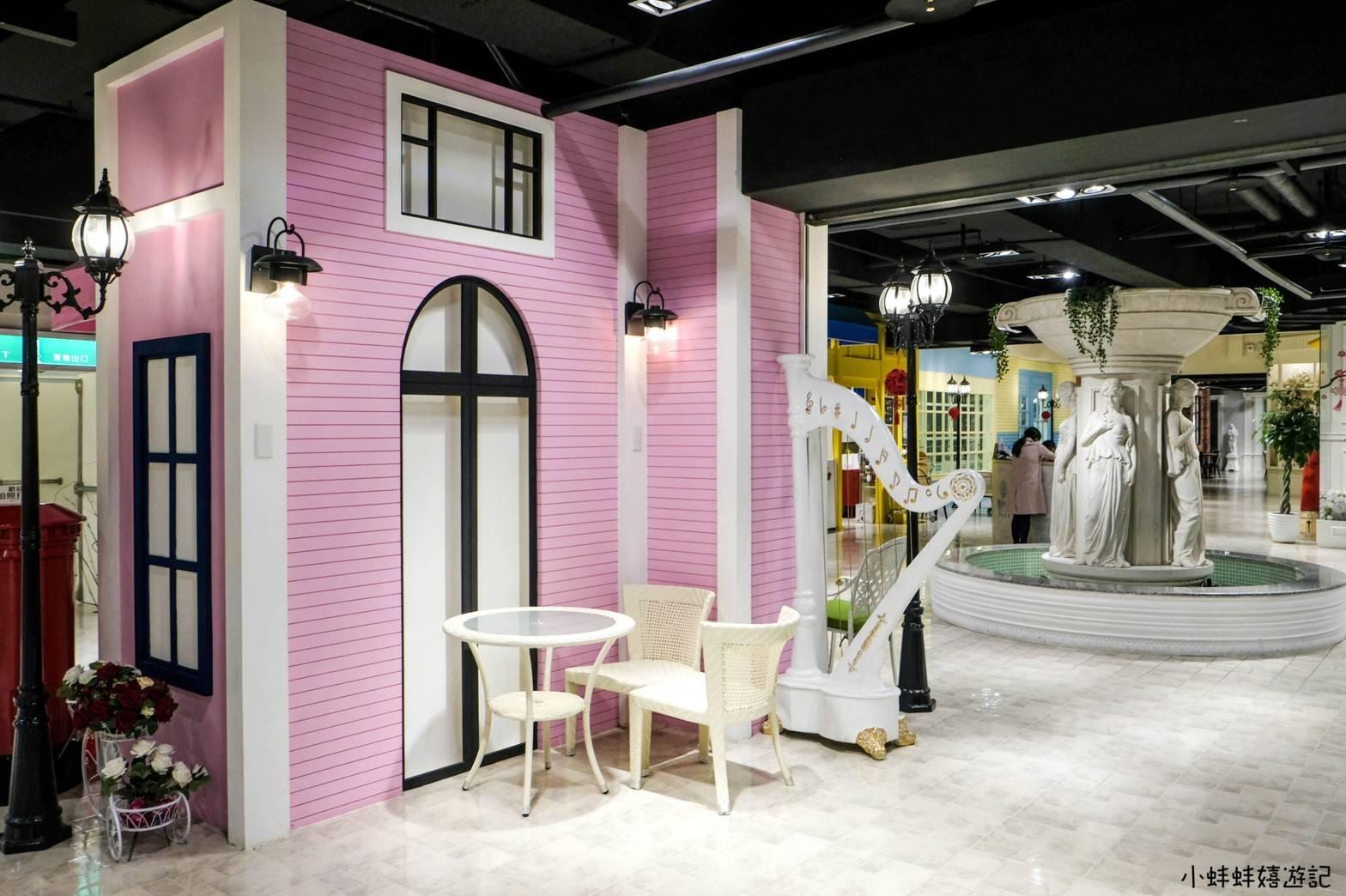婚宴會館-88樂章粉紅豎琴