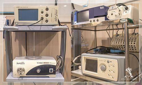 超音波抽脂儀(UAL)、美國4D動力抽脂儀(PAL)、負壓抽吸機、精密臉骨雕塑儀器