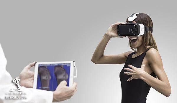 極緻醫美 crisalix 3D模擬 VR 虛擬實境