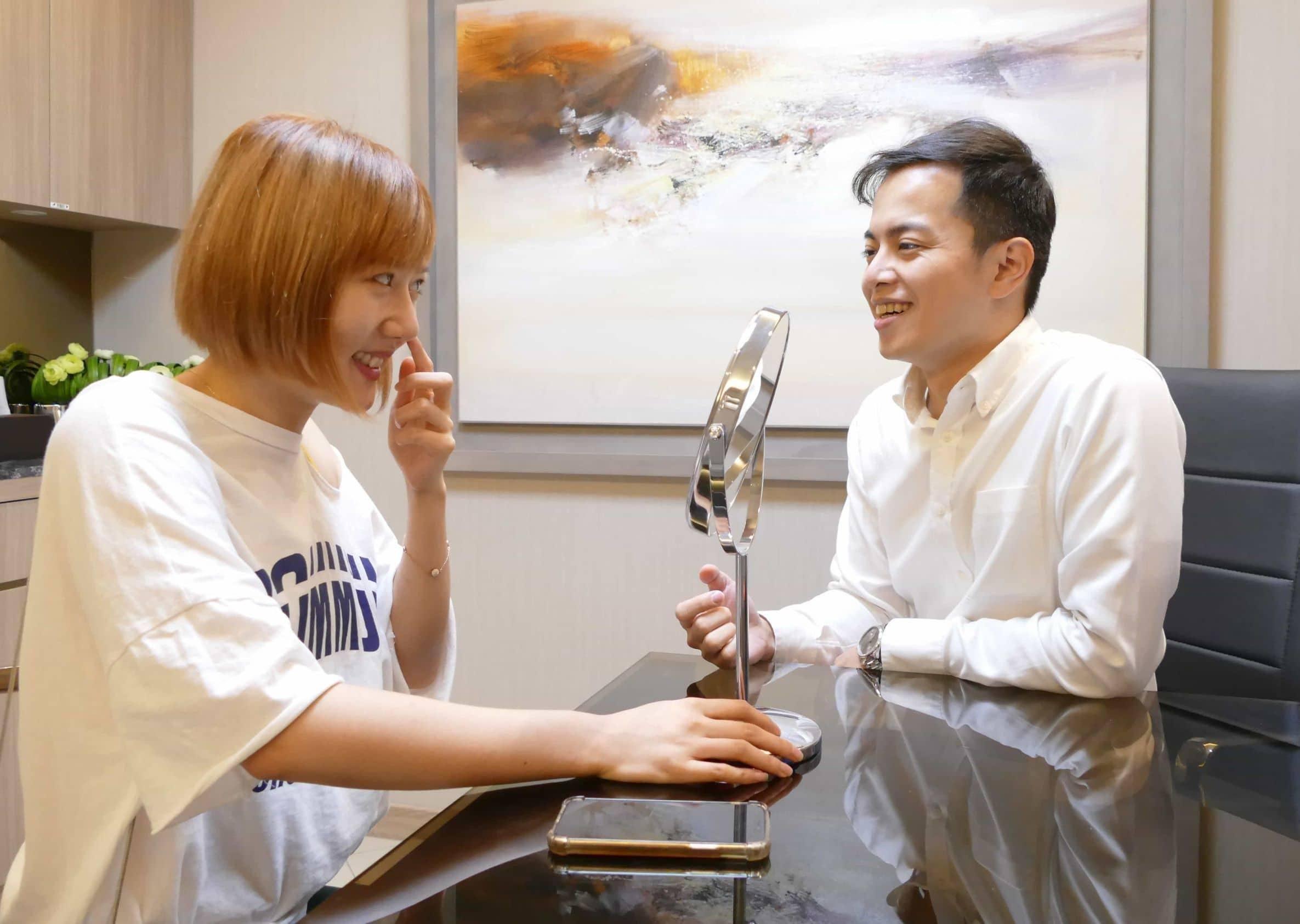 美容雷射應由專業醫師親自諮詢個人狀況-極緻醫美