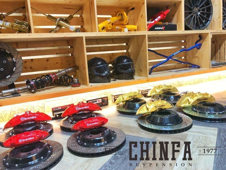 進發柏仕車業提供多種強化升級工程,配合專業的底盤調教,讓愛車換裝如虎添翼。