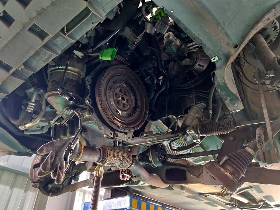 AUDI A1變速箱閥體故障維修施工情況。