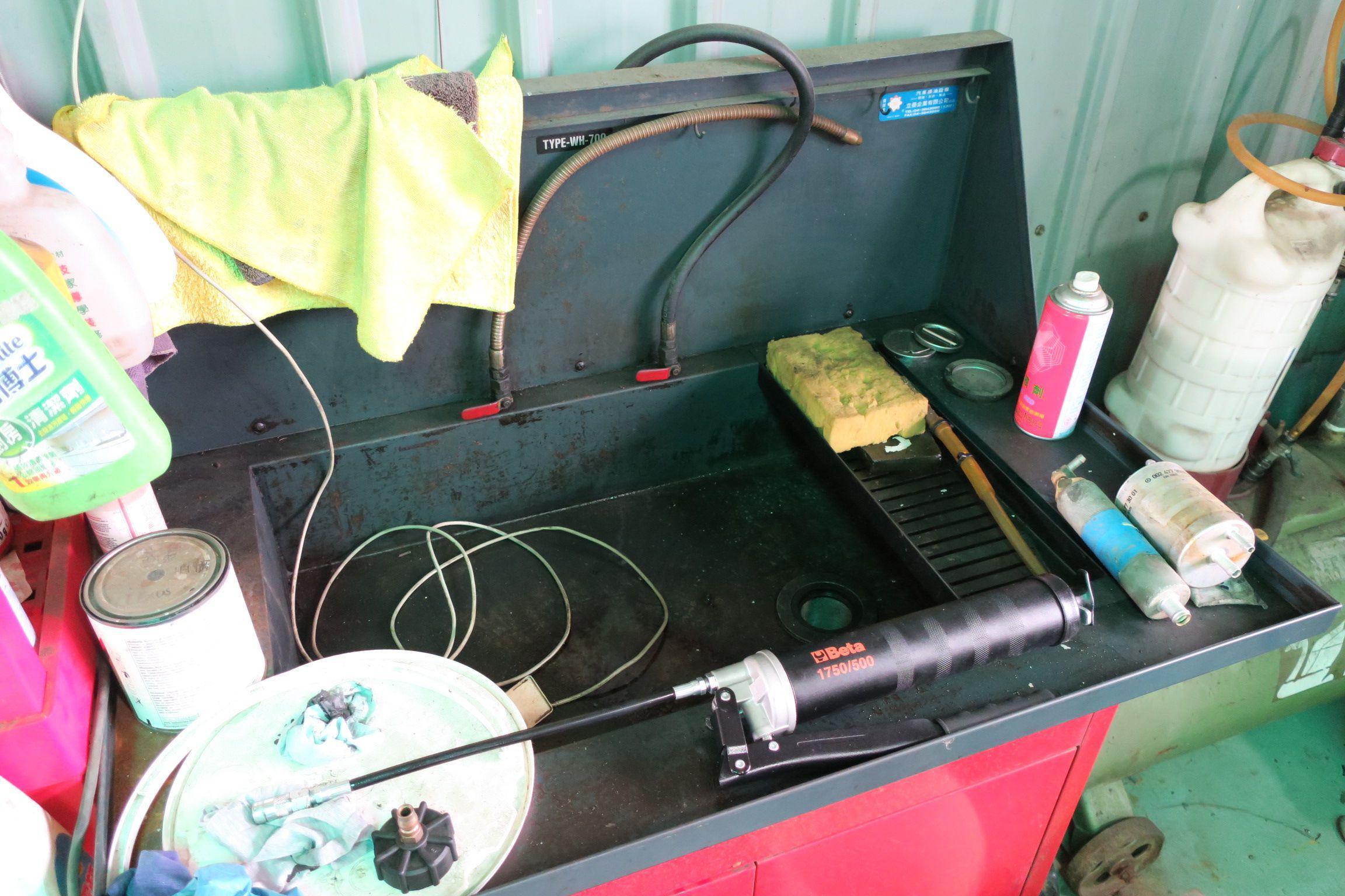 OiCar岳登汽車 引擎、變速箱重要零件清洗工作檯