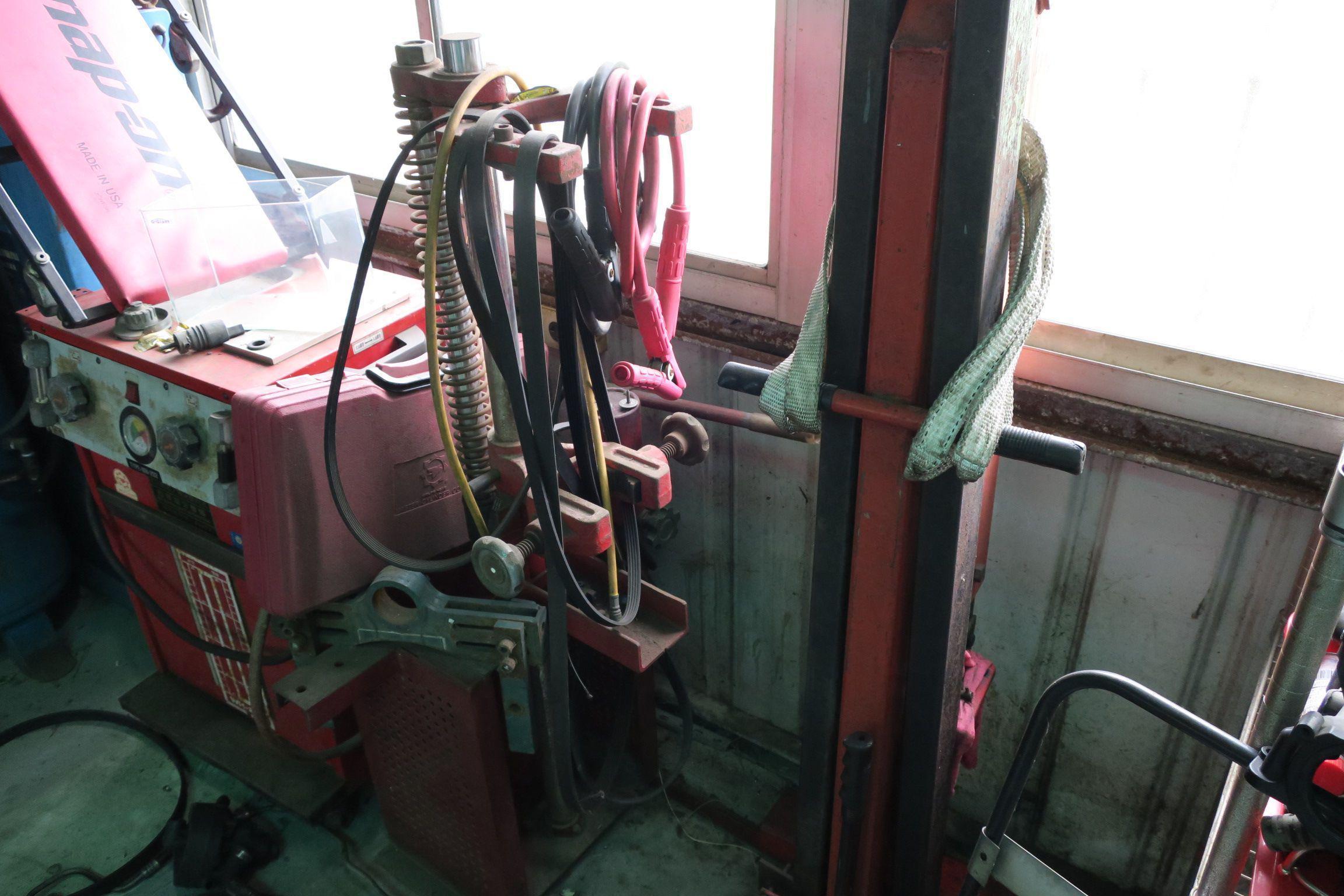 OiCar岳登汽車 引擎、變速箱拆卸掉具與避震器分解架