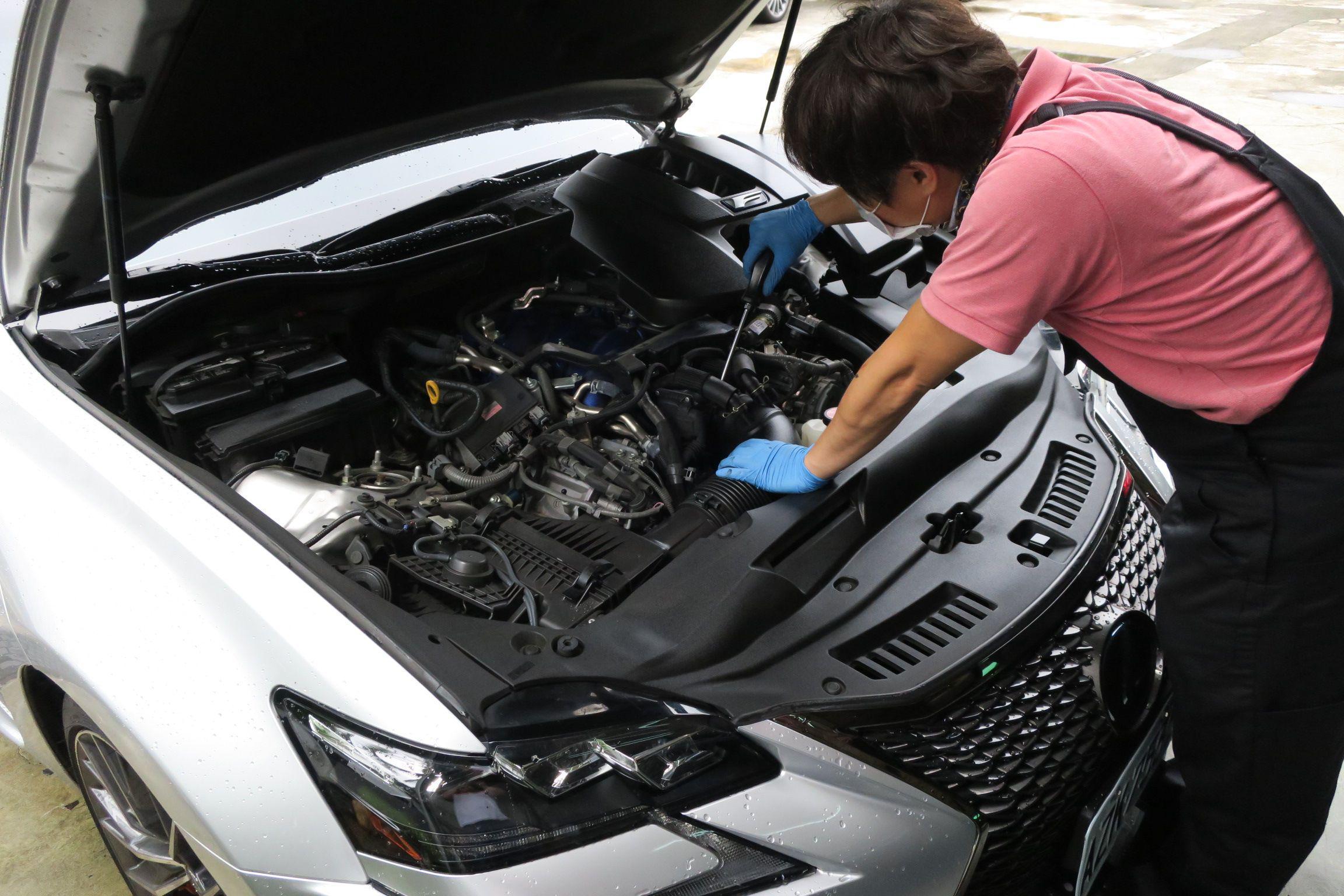 OiCar岳登汽車 引擎系統檢修