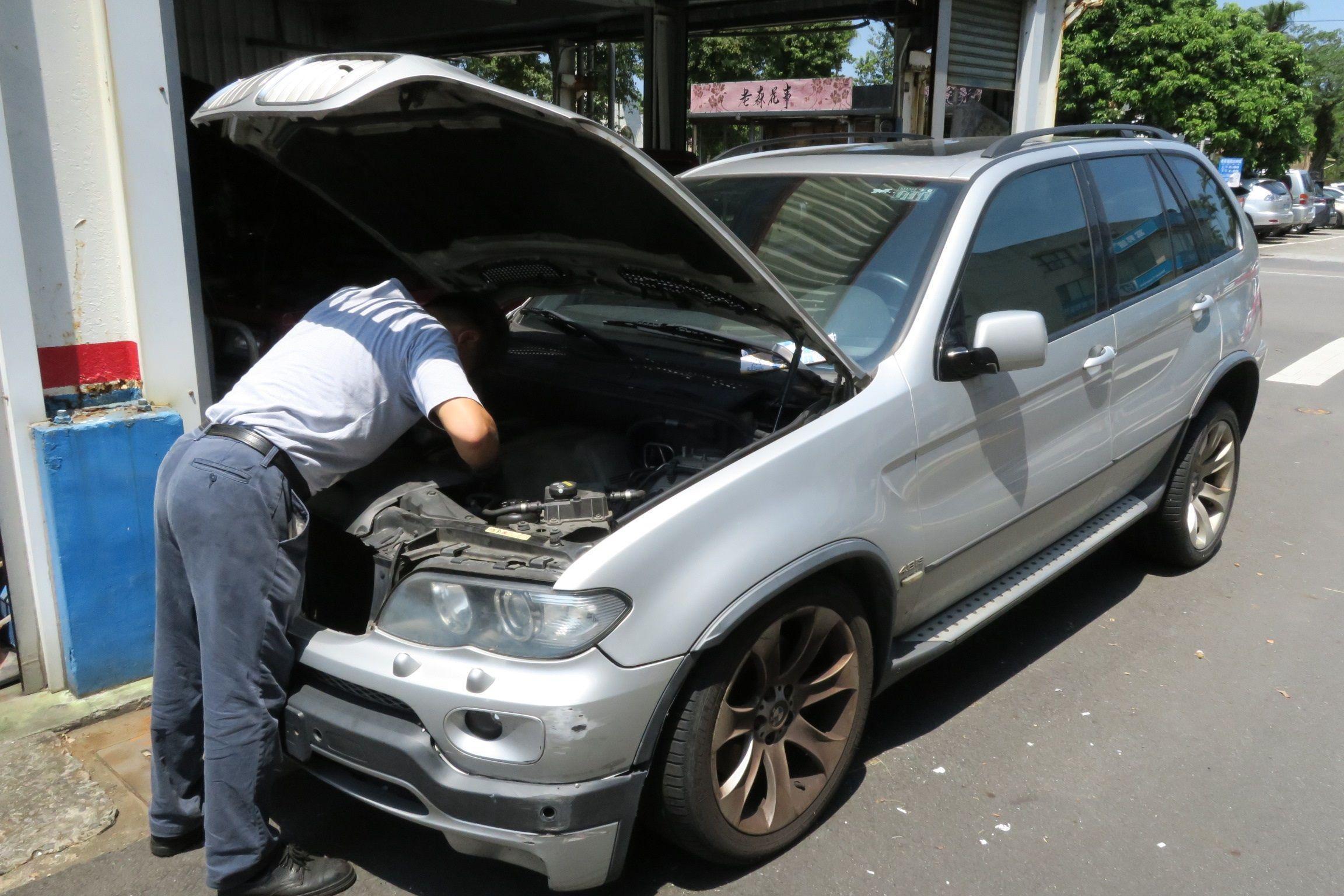 OiCar BMW X5引擎故障查修情況