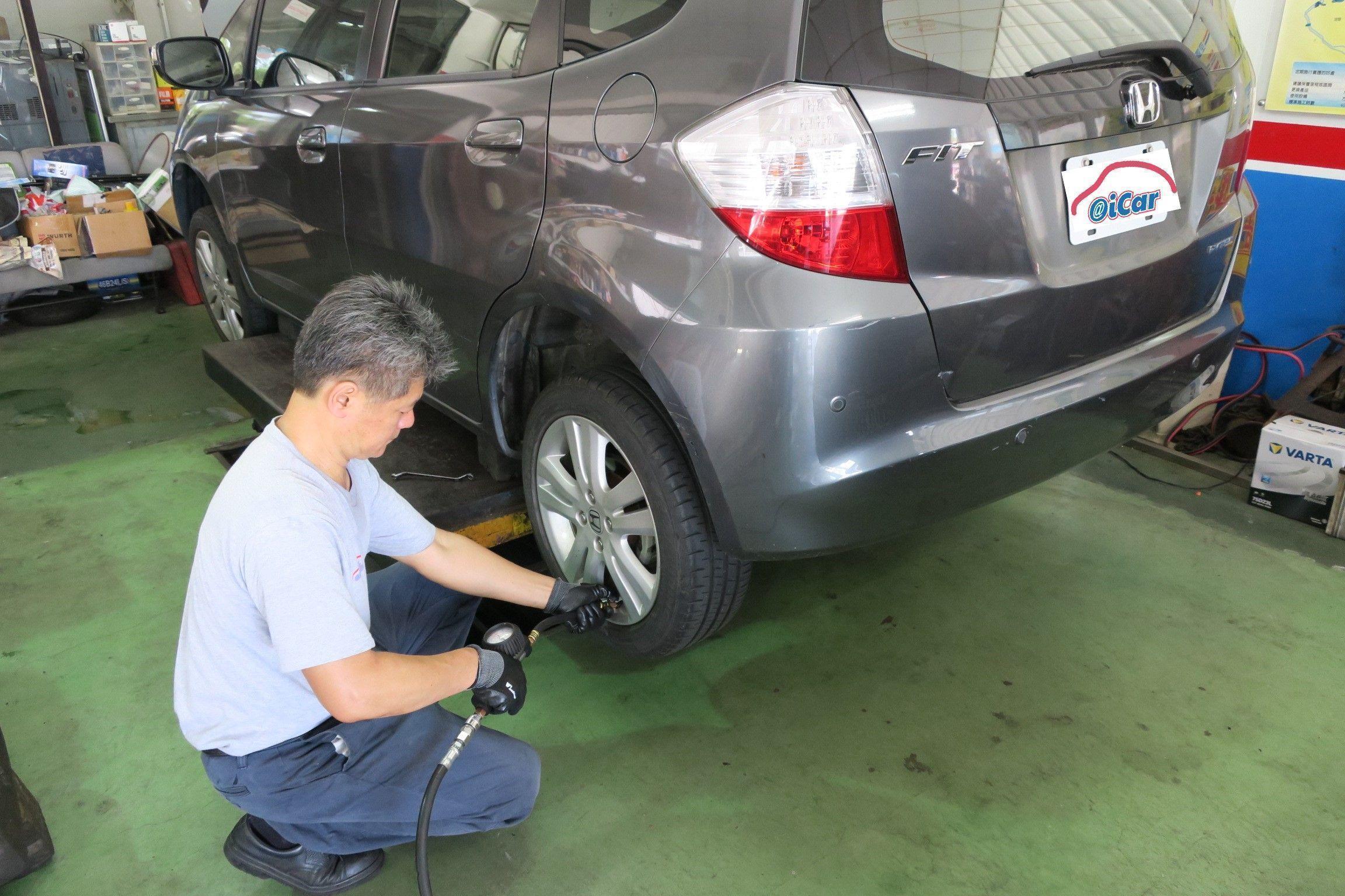 OiCar 確認四輪胎壓是否充足