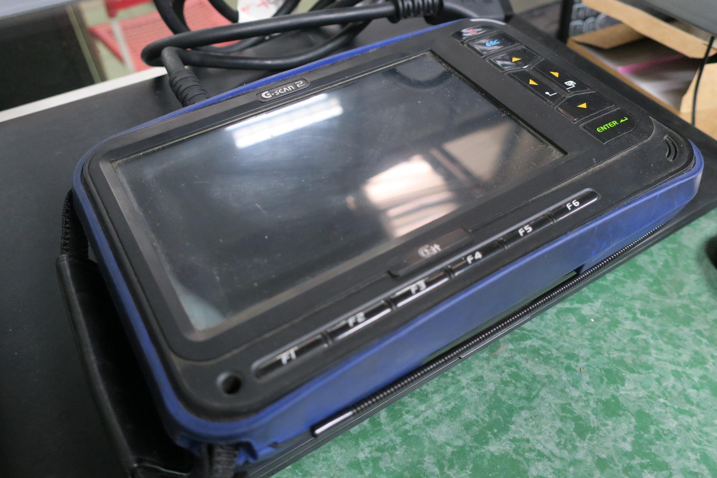 G-SCAN2通用型車用電腦診斷系統。