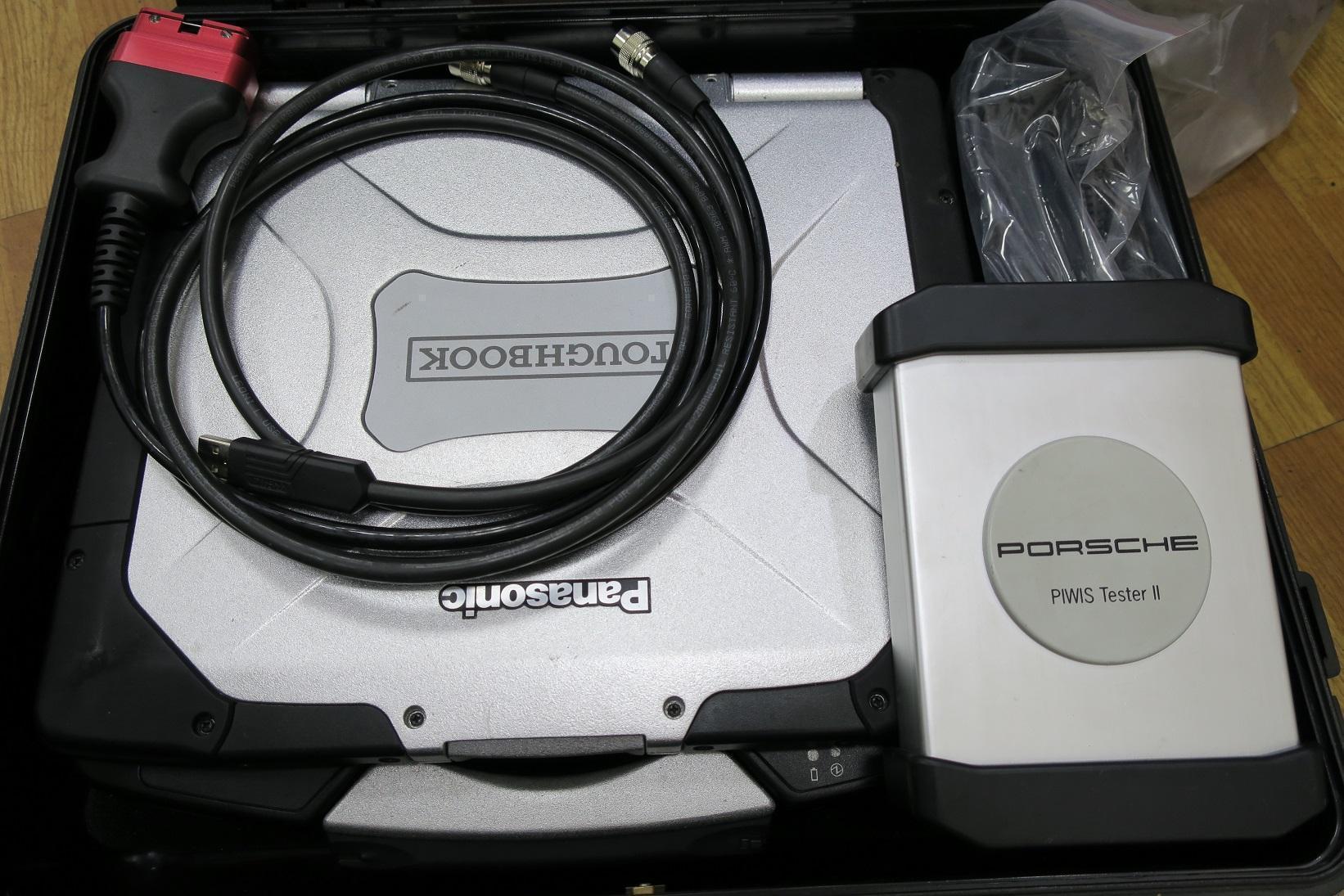 PORSCHE原廠工程版診斷電腦系統。