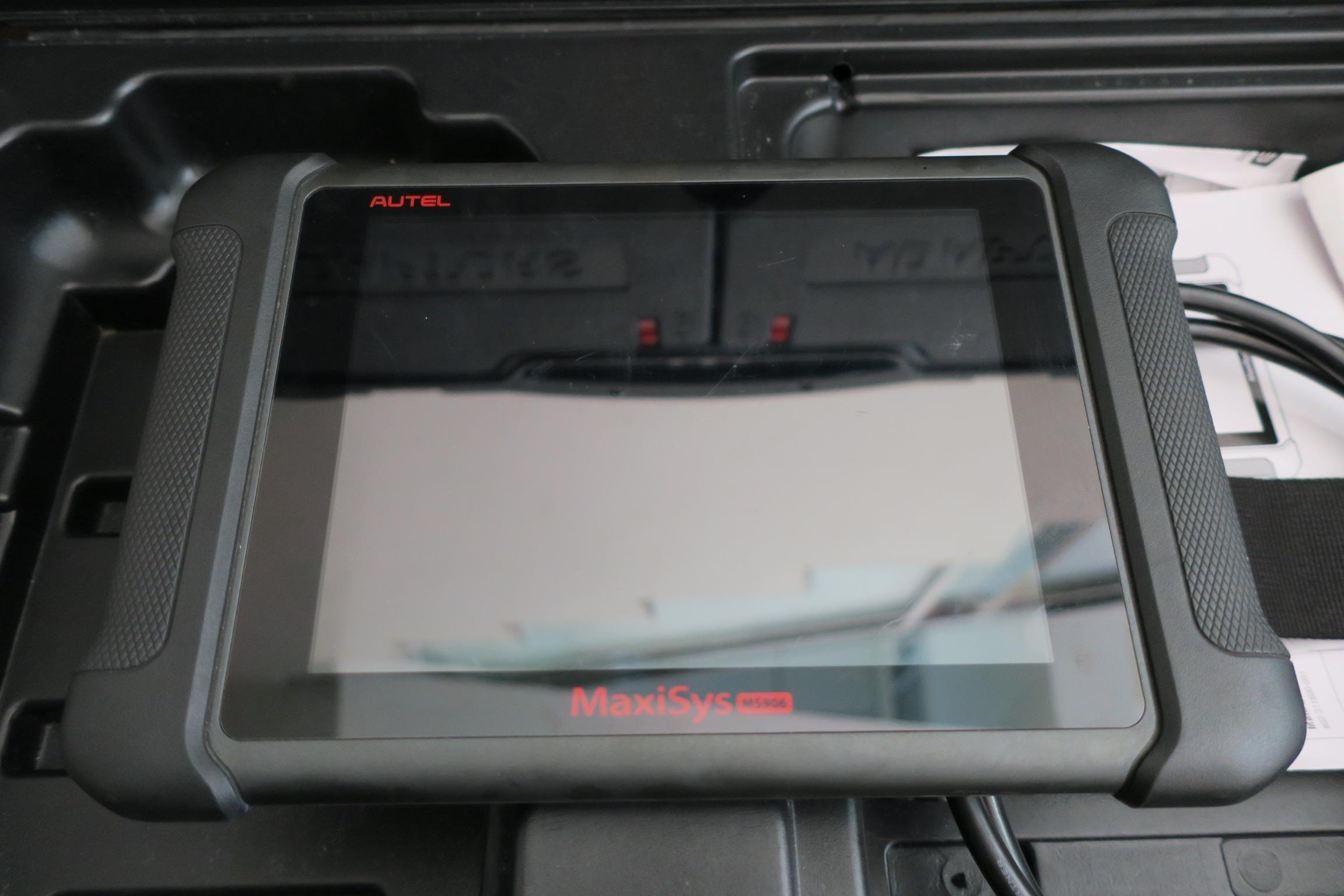 OiCar速得安保修團隊AUTEL MaxiSys906通用版診斷電腦系統。